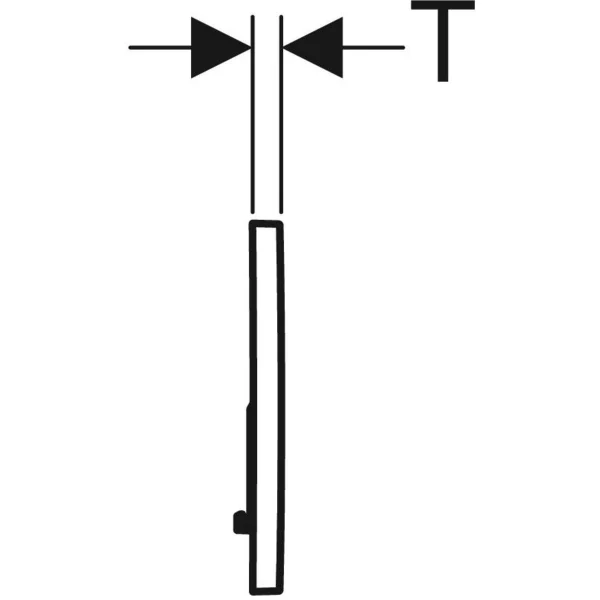 Fiche technique pPlaque de déclenchement GEBERIT SIGMA01